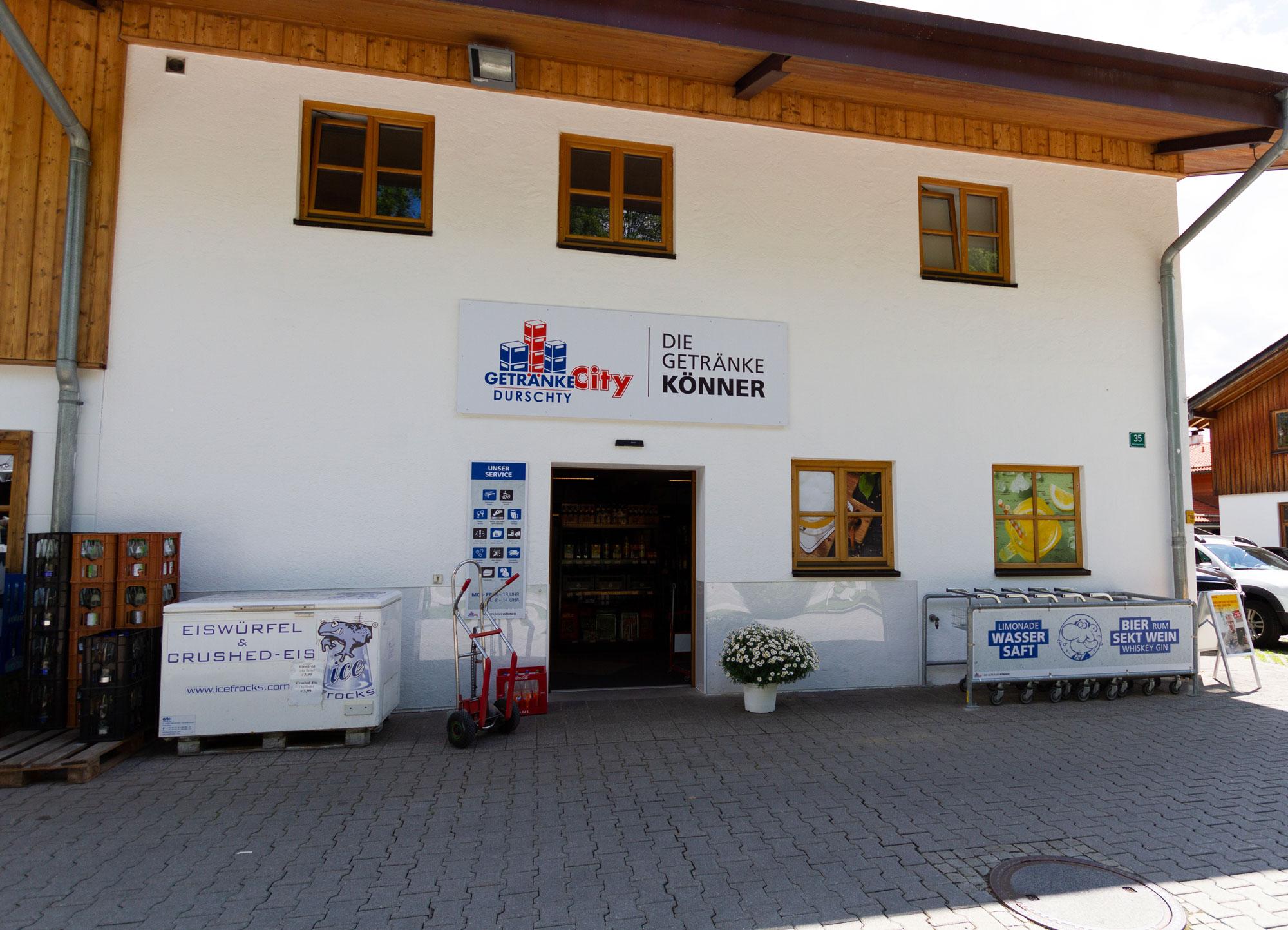 Getränke City Durschty Rottach-Egern